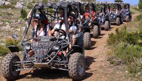 buggy safari in dubrovnik stag party activity 1