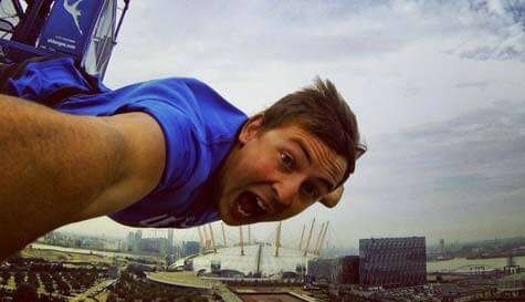 bungee jumping in london stag party activity 1