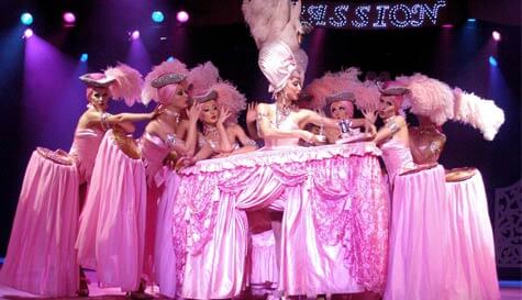 cabaret palace show in benidorm stag party activity 1