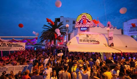 cafe mambo VIP in ibiza stag party activity 1