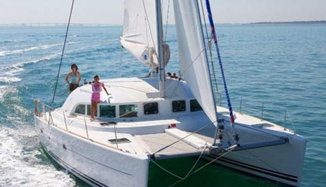 catamaran charter in marbella stag party activity 1