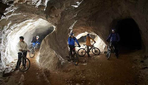 cave cycling