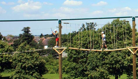 extreme high ropes course