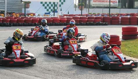 go karting in algarve stag party activity 1