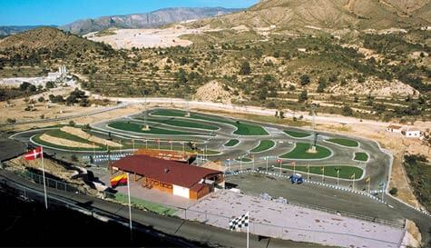 go karting in benidorm stag party activity 1