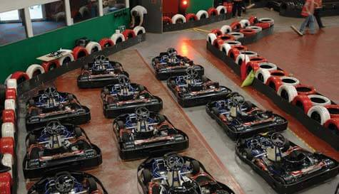 go karting in cardiff stag party activity 1