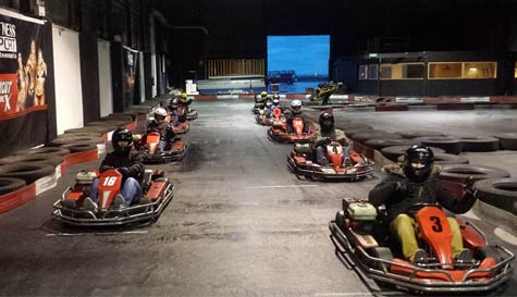 go karting in reykjavik stag party activity 1