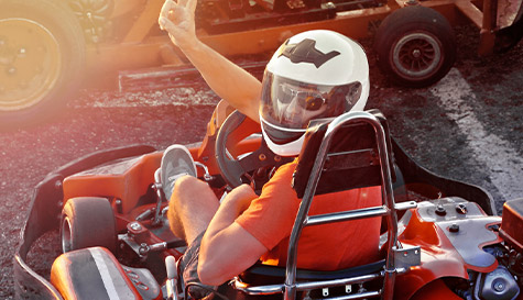 Go Karting Outdoor Stag Activity in Sofia | StagWeb