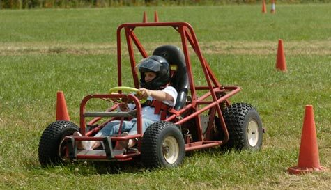 grass karting in  stag party activity 1