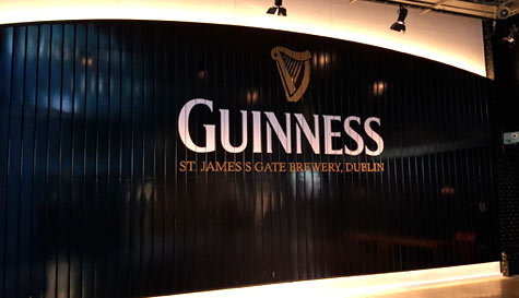 guinness brewery in  stag party activity 1