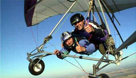 hang gliding in london stag party activity 1