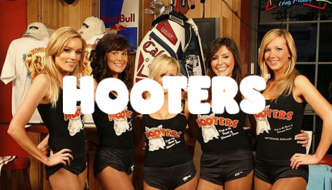 Hooters restaurant in nottingham stag party activity 1