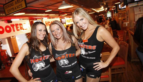 hooters nottingham stag party activity 1