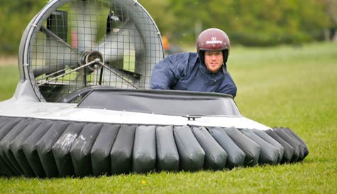 hovercraft racing in reading stag party activity 1