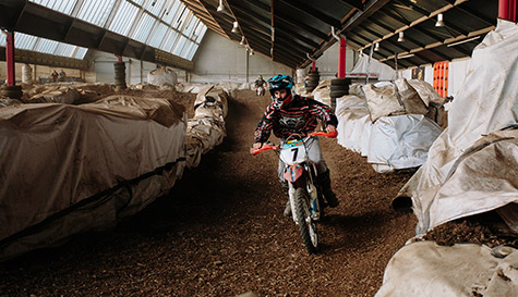 indoor electric motocross