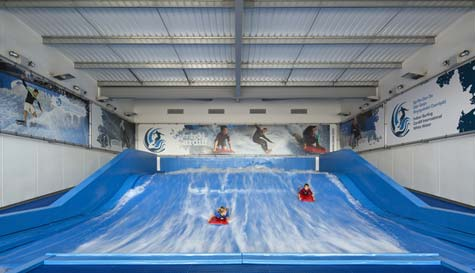 indoor bodyboarding