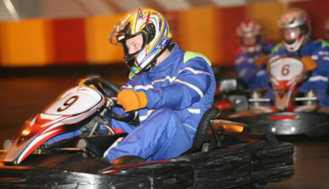 go karting in bath stag party activity 1