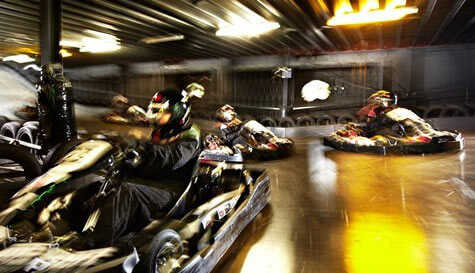 go karting in bristol stag party activity 1