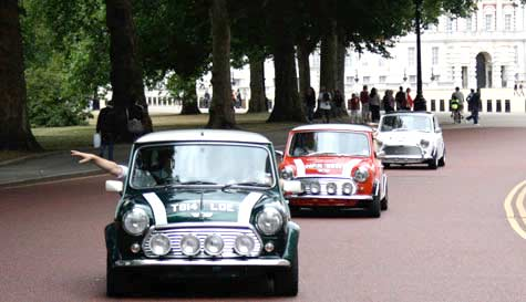 italian job in london stag party activity 1