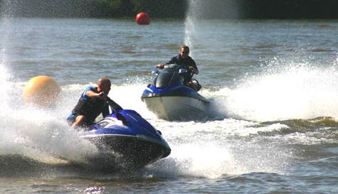 jet ski racing in magaluf stag party activity 1