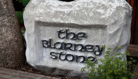 kiss the blarney