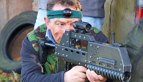 laser combat in bournemouth stag party activity 1