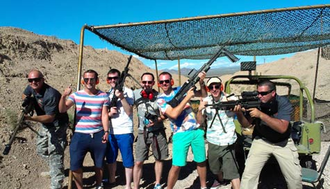 machine gun shooting in las-vegas stag party activity 1