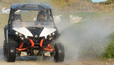 rage buggies action for your group stag party