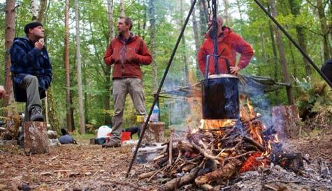 overnight bushcraft survival
