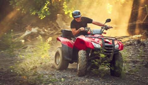 quadbike trekking in liverpool stag party activity 1