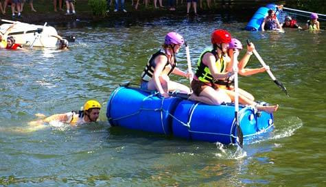 raft building in reading stag party activity 1