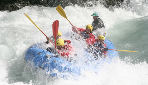 whitewater rafting in reykjavik stag party activity 1