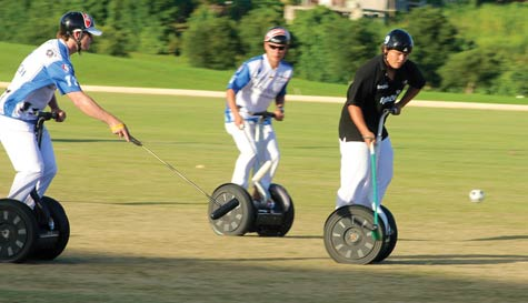 segway polo in newquay stag party activity 1