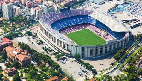 official stadium tour in barcelona stag party activity 1