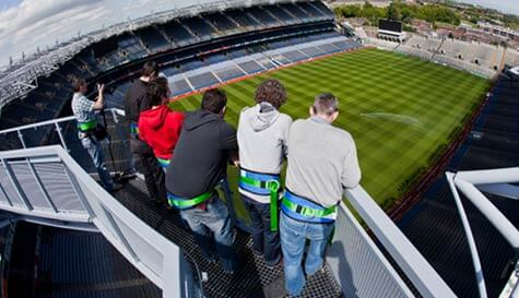 stadium tour in dublin stag party activity 1