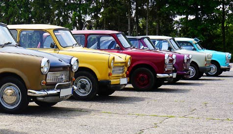 trabant rally in  stag party activity 1