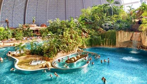 tropical water park