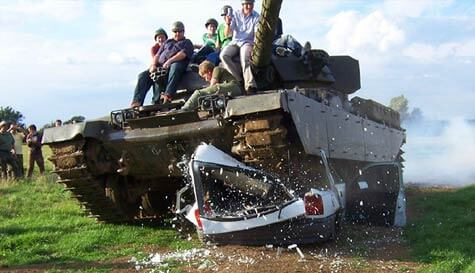 ultimate tank experience in  stag party activity 1
