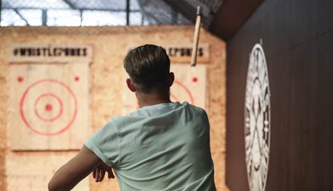 urban axe throwing