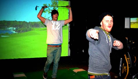 VIP Golf Simulator