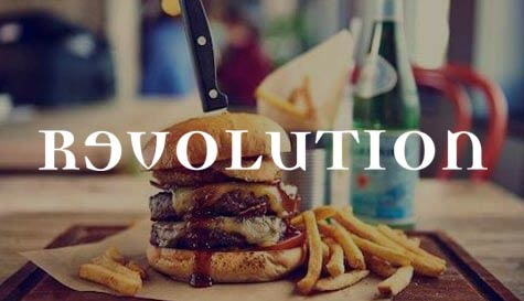 stag party meal - vodka revolution