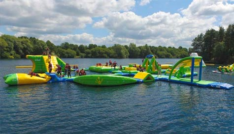 water assault course