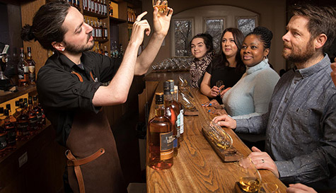 whiskey blending experience