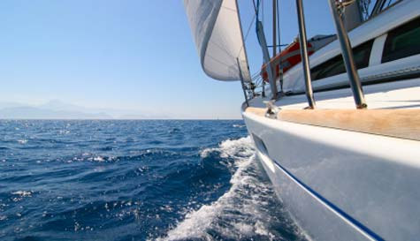 yacht charter in  stag party activity 1
