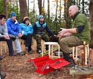 ultimate bushcraft survivors action on your stag weekend party