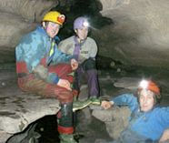 caving for your group stag party