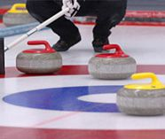 curling action on your stag weekend party