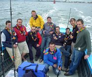 deep sea fishing action on your stag weekend party