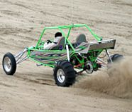 dune buggie action for your stag party