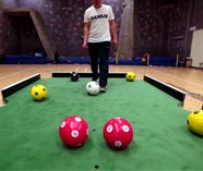 footpool action for your stag party